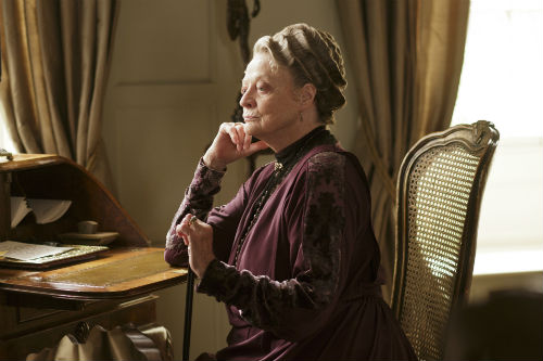 Downton Abbey S4E5: Violet Crawley (MAGGIE SMITH)