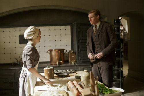 Downton Abbey S4E5: Daisy Mason (SOPHIE MCSHERA), Alfred Nugent (MATT MILNE)