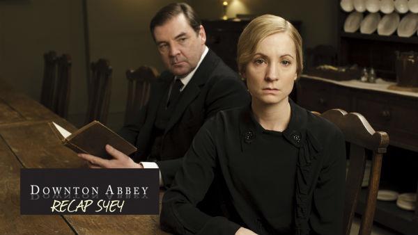 Downton Abbey S4E4 Recap: John Bates (BRENDAN COYLE), Anna Bates (JOANNE FROGGATT)