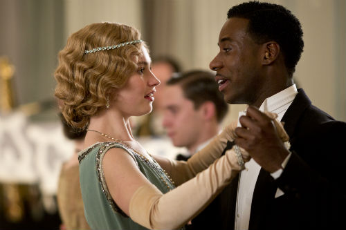 Downton Abbey S4E3: Rose MacClare (LILY JAMES), Jack Ross (GARY CARR)