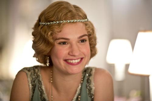 Downton Abbey S4E3: Rose MacClare (LILY JAMES)