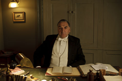 Downton Abbey S4E4: Mr. Carson (JIM CARTER)