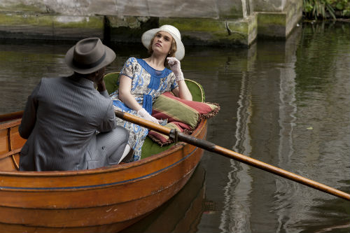Downton Abbey S4E6: Jack Ross (GARY CARR), Rose MacClare (LILY JAMES)