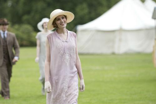 Downton Abbey S4: Edith Crawley (LAURA CARMICHAEL)