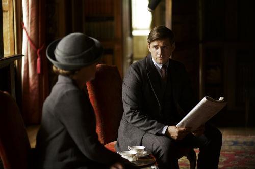 Downton Abbey S4: Isobel Crawley, Tom Branson