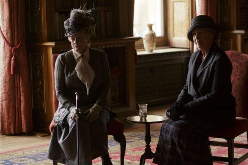Downton Abbey S4: Violet Crawley, Isobel Crawley
