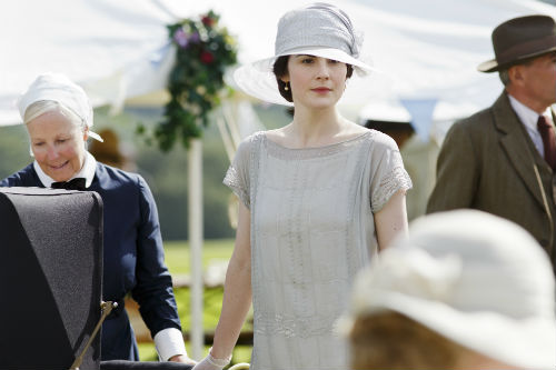 Downton Abbey S4: Mary Crawley (MICHELLE DOCKERY)