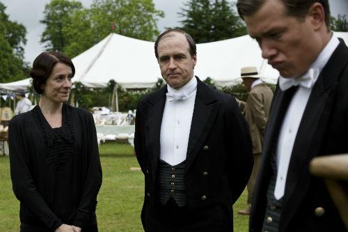 Downton Abbey S4: Baxter, Molesley, Jimmy Kent