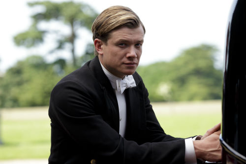 Downton Abbey S4: Jimmy Kent (ED SPELEERS)
