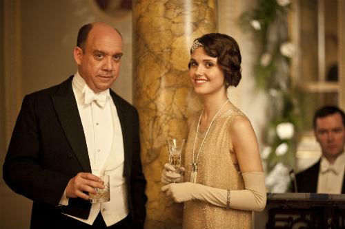 Downton Abbey S4: Harold Levinson (PAUL GIAMATTI)