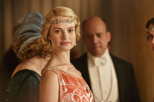 Downton Abbey S4: Rose MacClare (LILY JAMES)