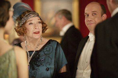 Downton Abbey S4: Martha Levinson (SHIRLEY MACLAINE), Harold Levinson (PAUL GIAMATTI)