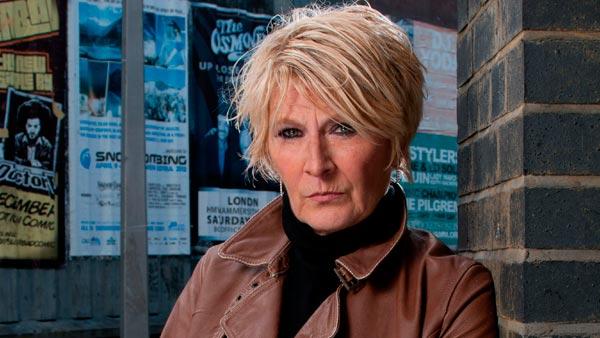 EastEnders 263: Shirley Carter (LINDA HENRY) Photo: Kierron McCarron (c) BBC 2012