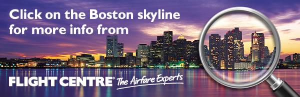 Investigate America Contest - Landing Page Flight Centre Link Banner