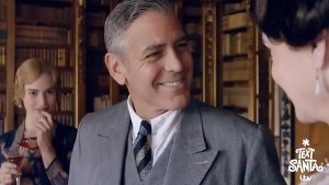 Downton Abbey for Text Santa - George Clooney