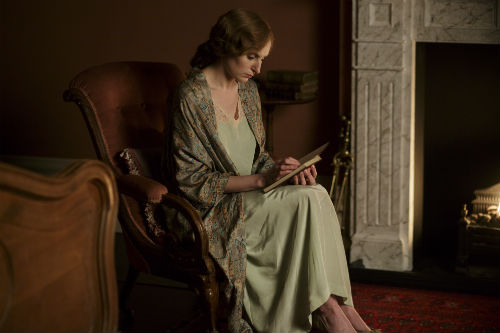 Downton Abbey S5E1: Lady Edith Crawley (LAURA CARMICHAEL)