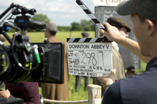 Downton Abbey BTS S5E6