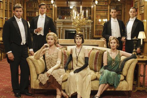 Downton Abbey S5 Cast