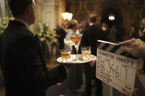 Downton Abbey BTS S5E5