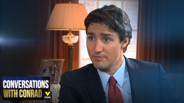 Conversations with Conrad: Justin Trudeau