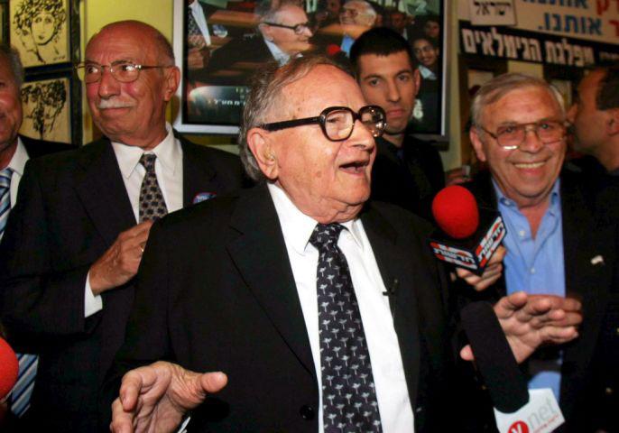 Pensioner Power - Rafi Eitan, Founder of Israeli Pensioners' Party
