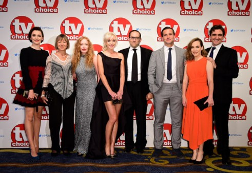 The Cast of Call the Midwife at the 2015 TV Choice Awards