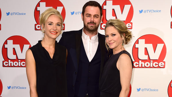 EastEnders Cast Members at the 2015 TV Choice Awards