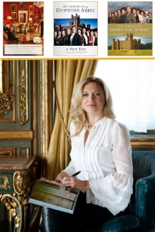Downton In Depth Contest: Jessica Fellowes with books
