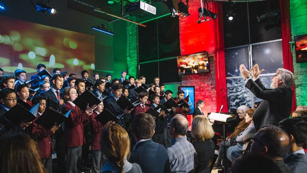 The Carols of Christmas with the St. Michael's Choir