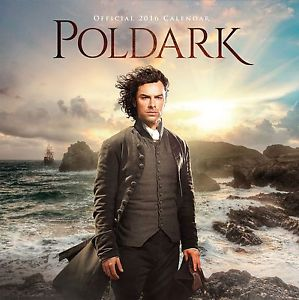 Poldark Official 2016 Calendar Cover