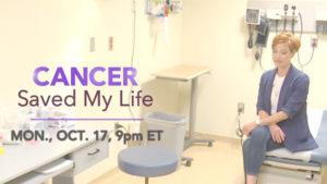 Cancer Saved My Life - Sidebar Widget - Dated