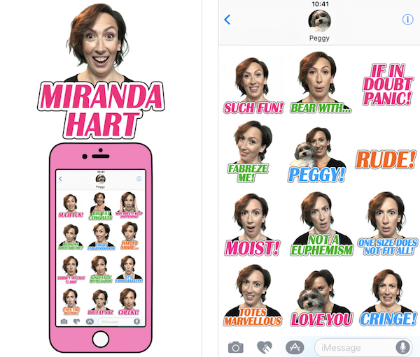 Miranda Hart - iPhone App