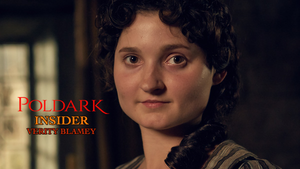 Poldark Insider S2: Ruby Bentall is Verity Poldark