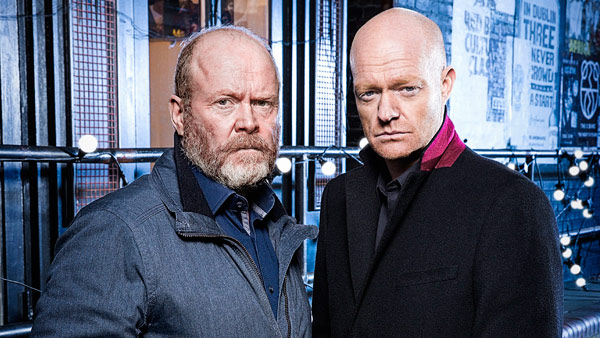 EastEnders 2016/2017: Phil Mitchell and Max Branning