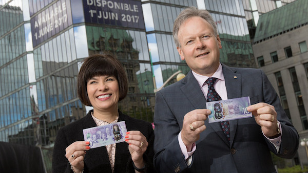 Bank of Canada-Bank of Canada issues commemorative -10 bank note