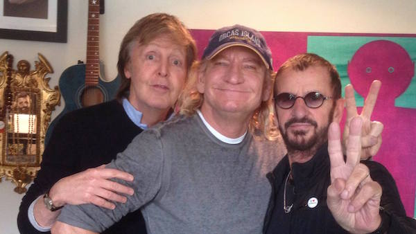 Ringo, Paul & Joe Walsh