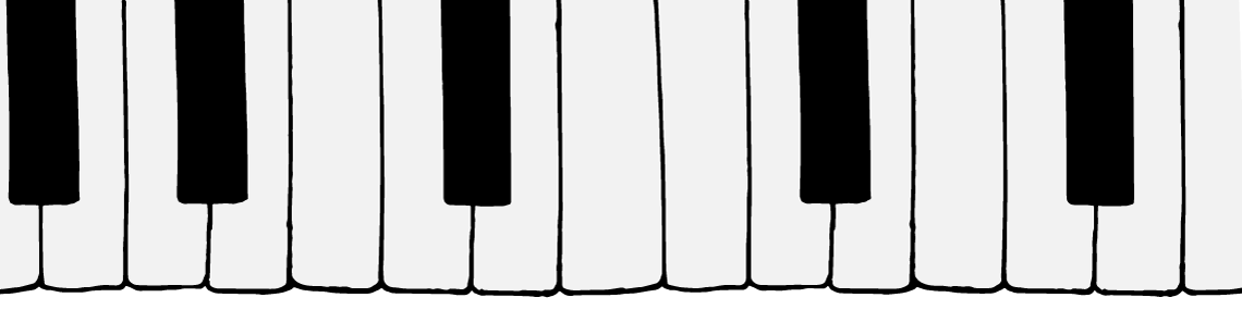 You're All Time Classic Hit Parade - Landing Page Elements - Piano Keys
