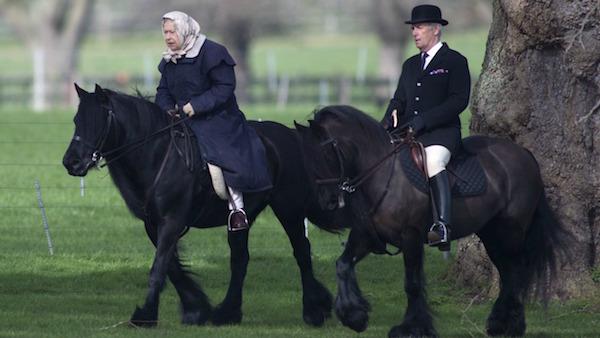 Queen Elizabeth II - Horses