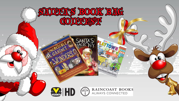 Santa's Book Bag Contest - Raincoast Books
