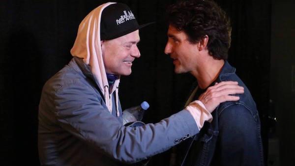 Gord Downie & Justin Trudeau