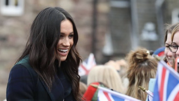 Meghan Markle - Union Jack