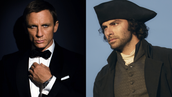 Daniel Craig & Aidan Turner - James Bond