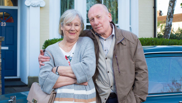 EastEnders Set 300 - Ted and Joyce Murray