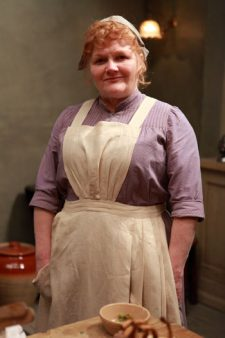 Downton Abbey S3: Lesley Nicol as Mrs. Patmore