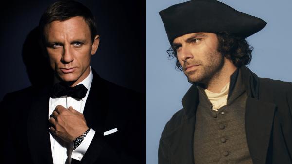 Daniel Craig & Aidan Turner - James Bond