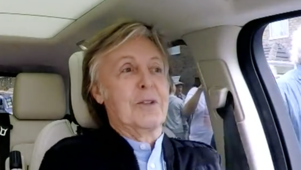 Paul McCartney - Corden - 2018