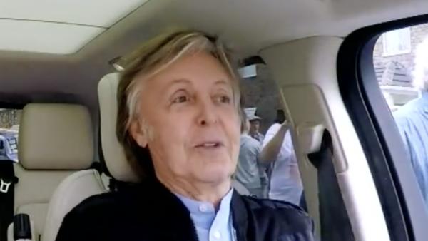 Paul McCartney - Corden - 2018