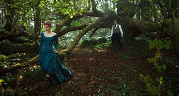 Miss Julie starring Jessica Chastain and Colin Farrell