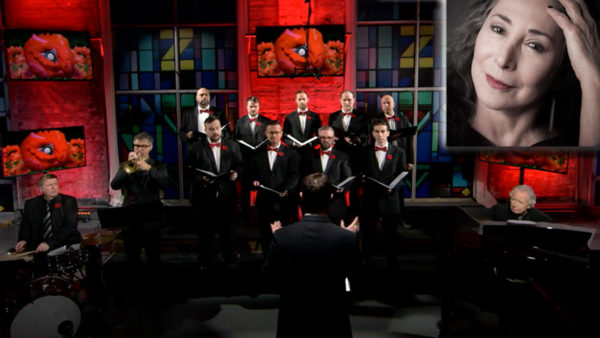 theZoomer S6E3: Remembrance Day 2018 - In Flanders Fields - Marilyn Lightstone and the Canadian Men's Chorus