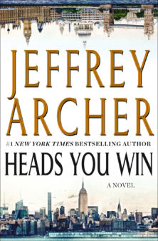 """Merry Mysteries and Mary Poppins Contest - """"Heads You Win"""" by Jeffrey Archer"""
